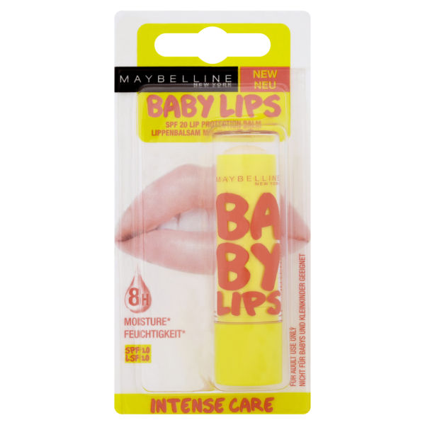Soin lèvres Maybelline Baby Lips Intensive Care