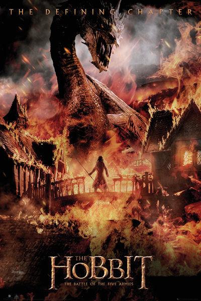 The Hobbit Battle of Five Armies Dragon - Maxi Poster - 61 x 91.5cm