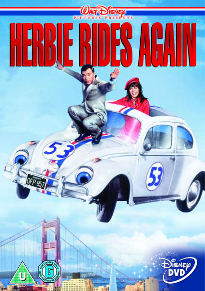 Herbie Rides Again DVD | Zavvi