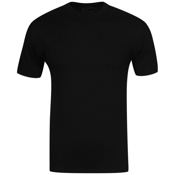c8dcd176 Nike Men's Short Sleeved T-Shirt – Black: Image 1