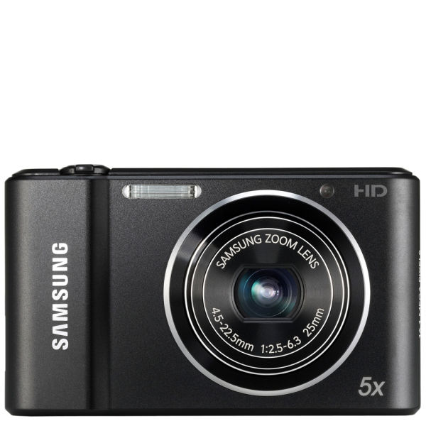 Samsung St68 Digital Camera Black 16mp 5x Optical 2 7