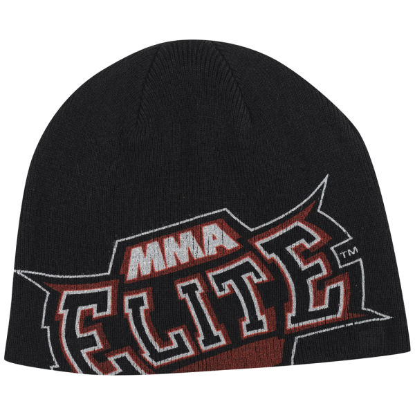 MMA Elite Men's Slide Beanie - Black - One size