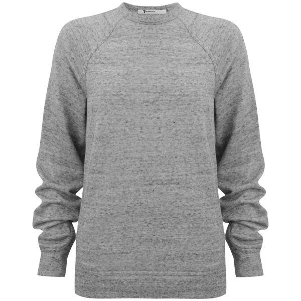 T by Alexander Wang Women's Crew Neck Sweatshirt - Grey