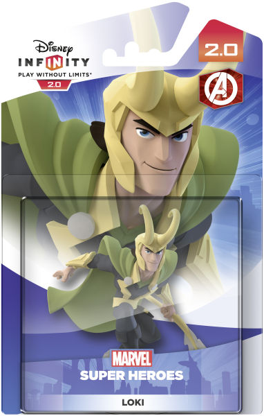 Disney Infinity 2 0 Loki Figure Games Zavvi