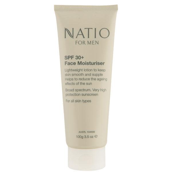 Hydratant visage 30+ pour homme de Natio (100g)