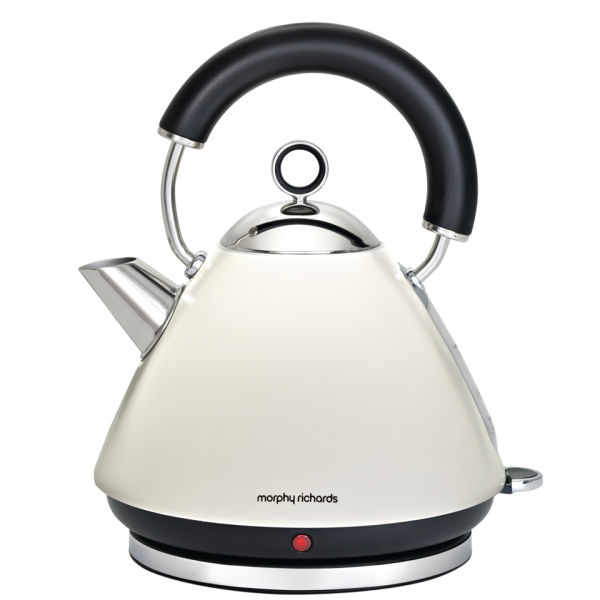 Morphy Richards Accents Traditional Kettle White Iwoot