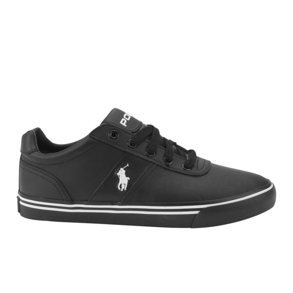 5651553fd2d Polo Ralph Lauren Men's Hanford Trainers - Black | FREE UK Delivery ...