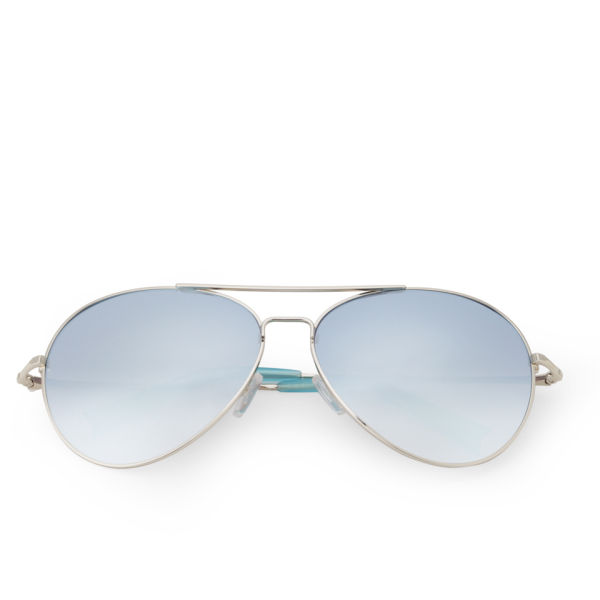 Matthew Williamson Mirror Lens Aviator Sunglasses - Jade