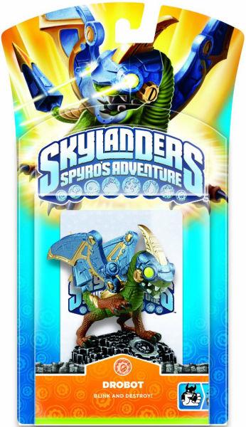Skylanders Spyro S Adventure Character Pack Drobot