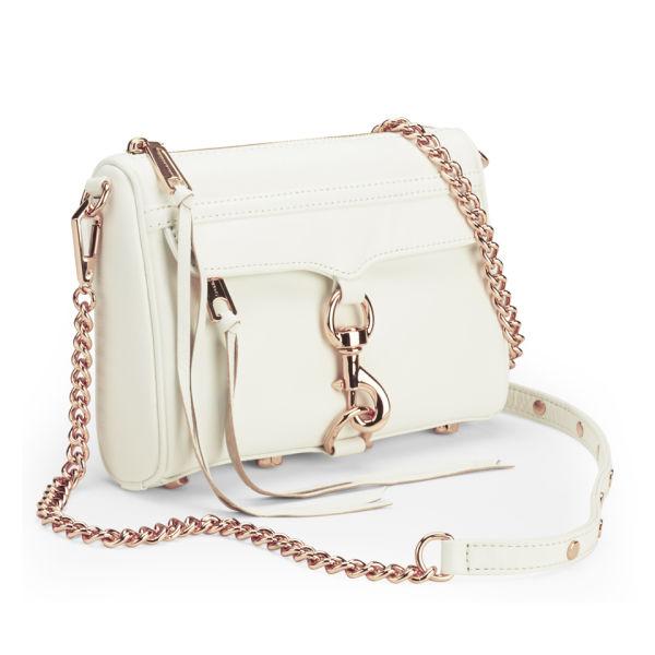 Rebecca Minkoff Women S Mini Mac Leather Cross Body Bag