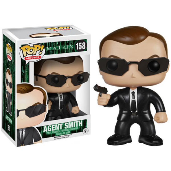 The Matrix Agent Smith Pop! Vinyl Figure