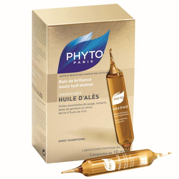 Phyto Huile D'Alès Bain de Brillance haute hydratation (5x10ml)