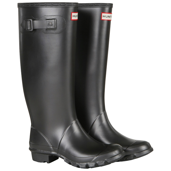 Hunter Women's Huntress Metallic Wellies - Pewter