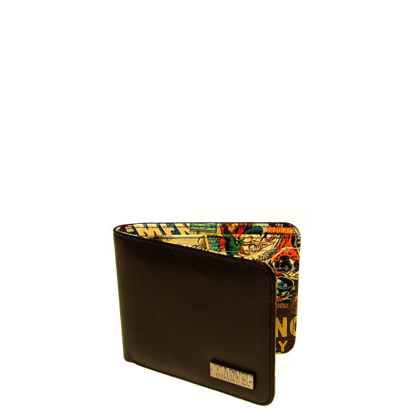 Marvel Retro Comic Inside Print Wallet Multi Mens