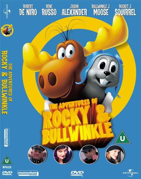 The Adventures Of Rocky Amp Bullwinkle Dvd Zavvi