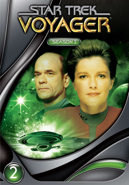 Star Trek Voyager - Season 2 (Slims)