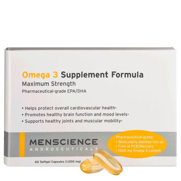Suplementos del Omega 3 MenScience (60 cápsulas)