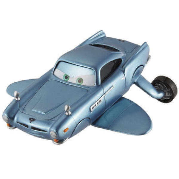 Cars 2 Spy Attack Finn Mcmissile: Cars 2: Oversized Die Cast Finn Mcmissile Submarine Toys