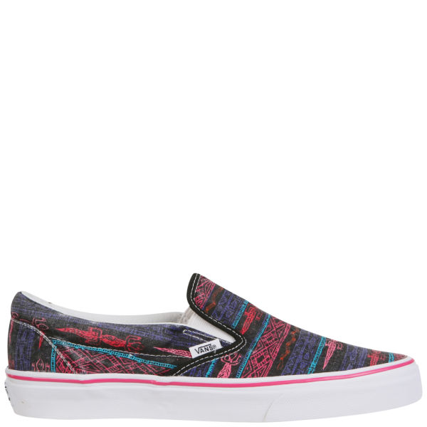Vans Classic Slip-On Van Doren Trainers - Black/Tribal Desert
