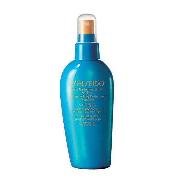 Sun Protection Spray Oil-Free SPF15 de Shiseido (150ml)