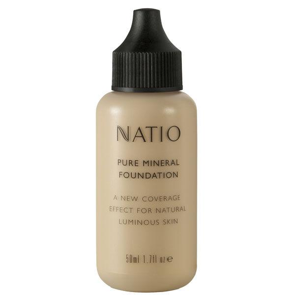 Fond de teint Minéral Pure de Natio- Clair(50ml)
