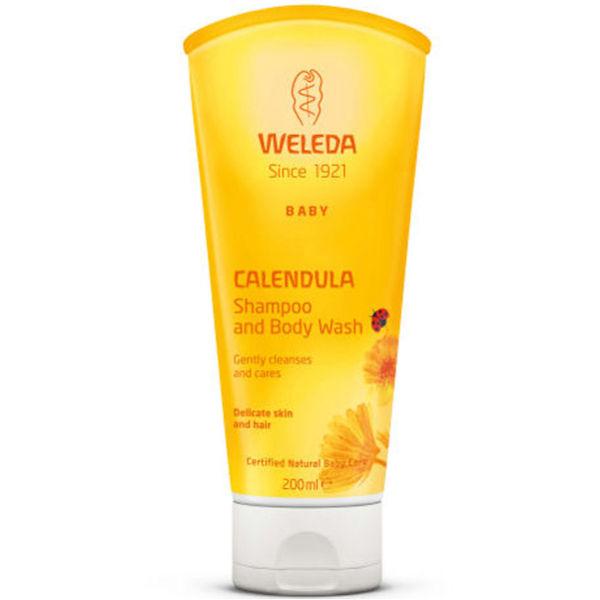 Weleda Baby Calendula Shampoo and Body Wash (200ml)