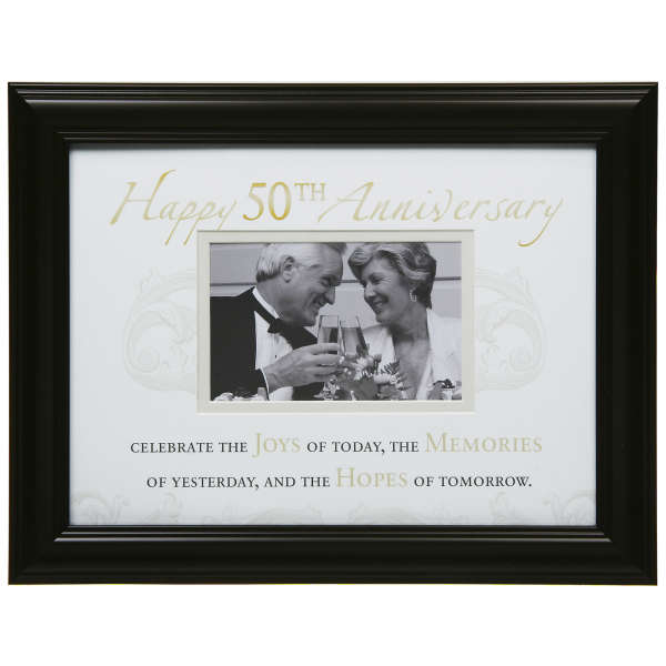 Moments 50th Anniversary Photo Frame Iwoot