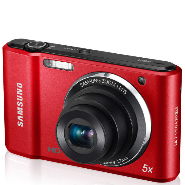 Samsung ES91 Compact Digital Camera (14MP, 5x Optical, 2.7 ...