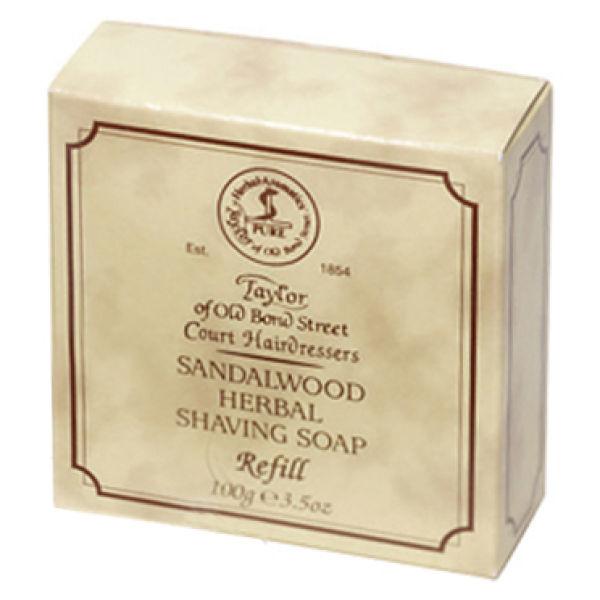 Taylor of Old Bond Street Sandalwood Shaving Soap Refill (3.5 oz)
