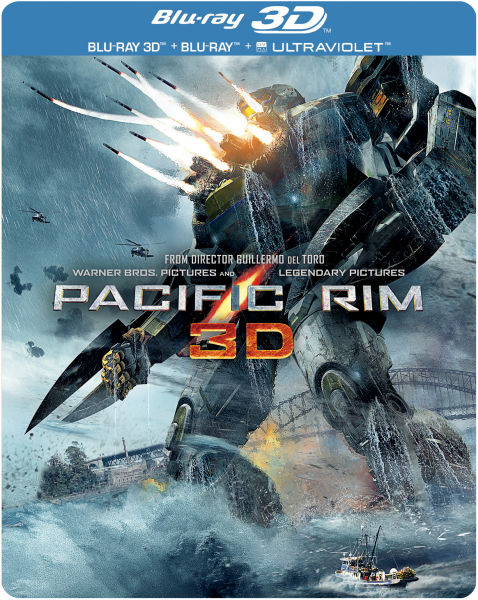 Pacific Rim 3D - Limited Edition Steelbook (Includes 2D ... Pacific Rim 2013 Bluray