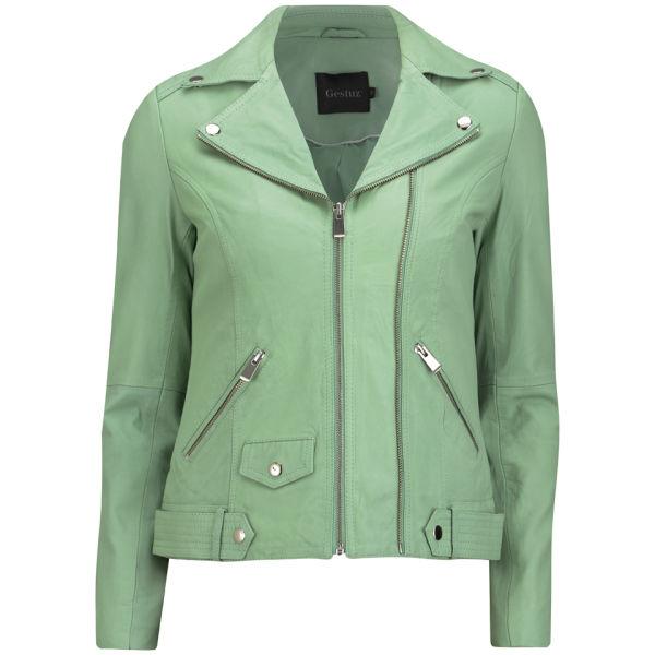Gestuz Women's Sola Jacket - Jade Creme