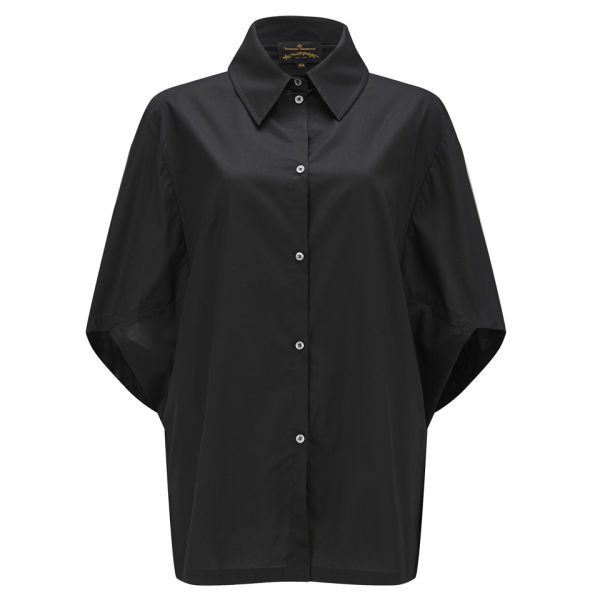 Vivienne Westwood Anglomania Women's Hero Oversized Blouse - Black