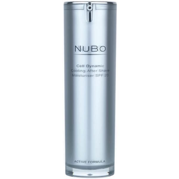 Crema hidratante para después del afeitado Cell Dynamic de NuBo con protección FPS20 (30 ml)
