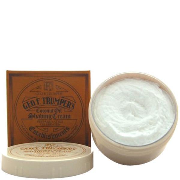 Geo. F. Trumper Trumpers Shave Cream - Coconut 7oz
