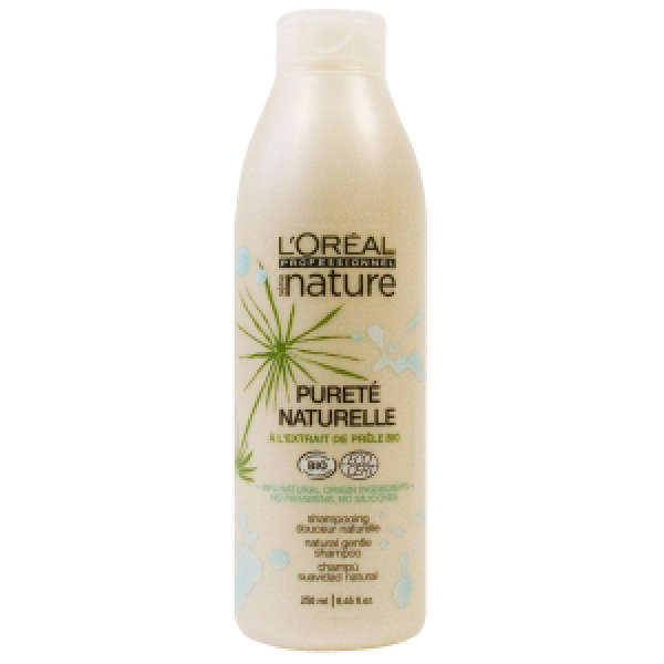 L'Oréal Professionnel Serie Nature Puret Naturelle Gentle Shampoo For All Hair Types (250ml)