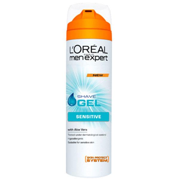 Gel de Rasage Pour Peau Sensible par L'Oréal Paris Men Expert (200ml)