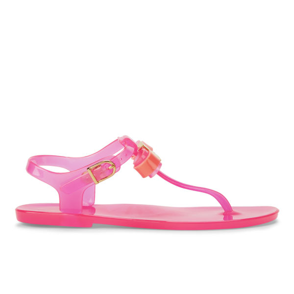 Ted Baker Women S Deynaa Jelly Bow Sandals Pink Free