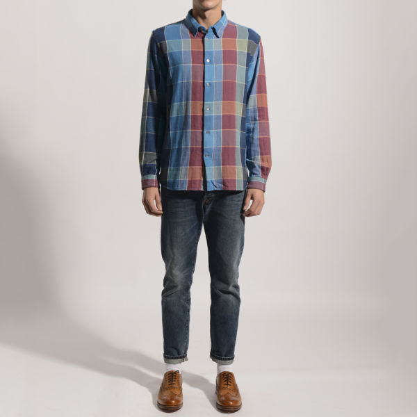 Paul Smith Jeans Men S Long Sleeved Classic Fit Shirt