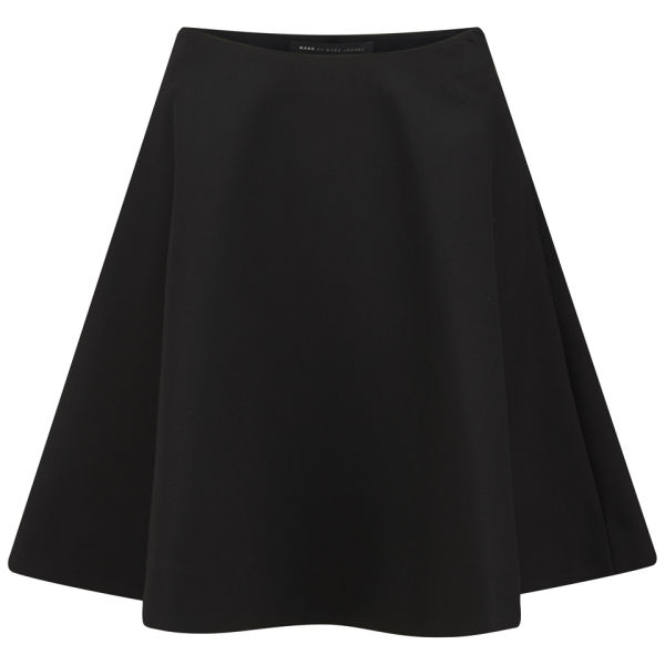Marc by Marc Jacobs Women's Sixties Full Circle Wool Skirt - Black