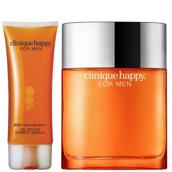 Clinique For Men Happy Duo(Spray, Hair & Body Wash 50 ml)