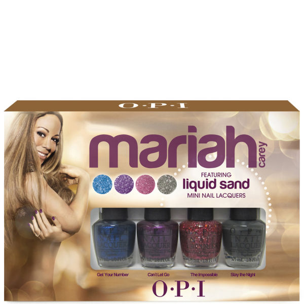 OPI Mariah Carey Mini Pack Collection Nail Lacquer (Limited Edition ...