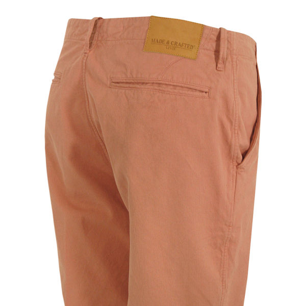 Levi 39 s made crafted men 39 s 59100 drill shorts pink for Levi s made and crafted