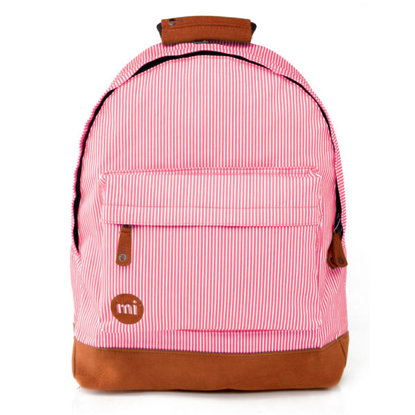 Mi-Pac Premiums Candy Stripe Backpack - Red
