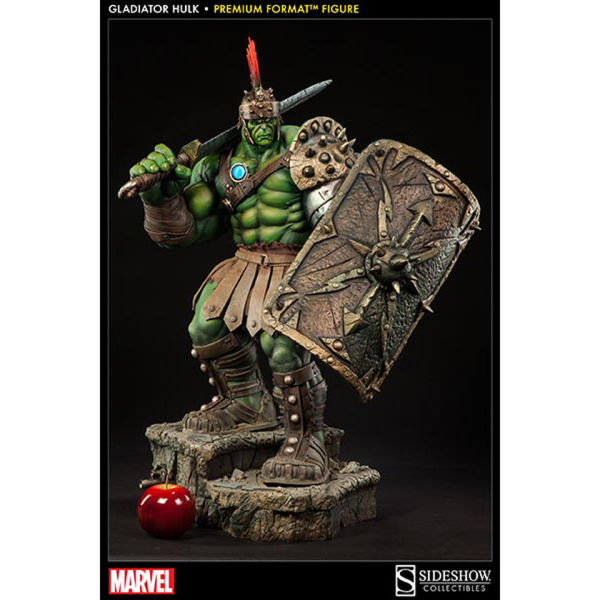 Warriors New Arena Under Construction: Sideshow Collectibles Gladiator Hulk 30 Inch Statue