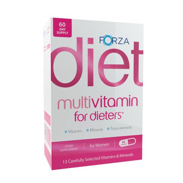 Forza Multivitamin for Dieters (Women) - 60 Capsules
