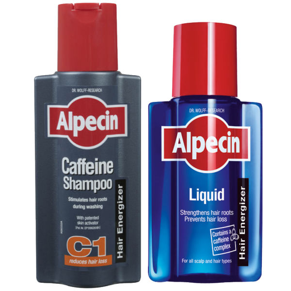 Alpecin Liquid and Caffeine Shampoo Duo