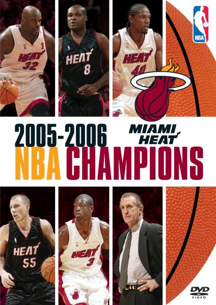Nba Champions 2005 2006 Miami Heat Dvd Zavvi