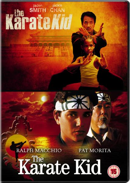 The Karate Kid (1984) / The Karate Kid (2010) DVD | Zavvi Karate Kid 1984 Poster