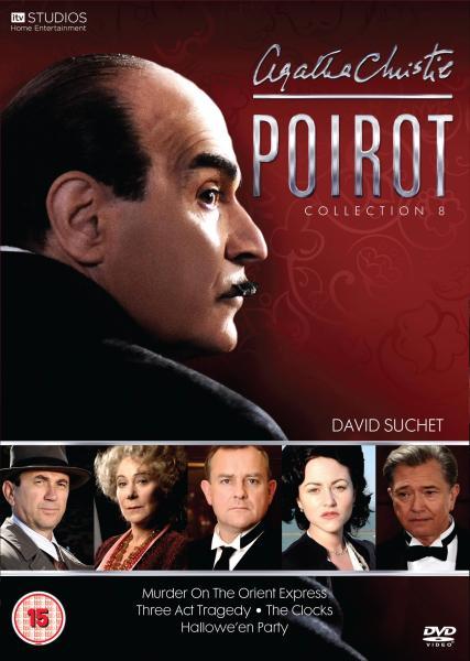 Poirot Collection 8 Dvd Zavvi De