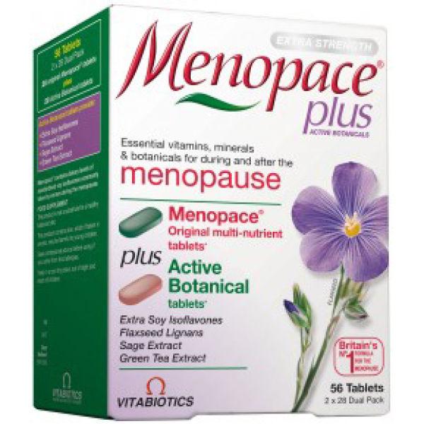 Vitabiotics Menopace Plus With Active Botanicals 2 X 28